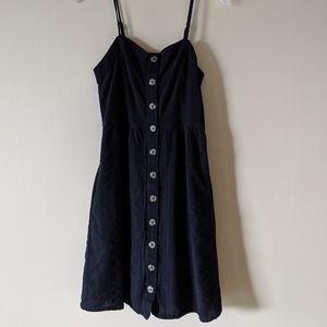 universal thread M button up dress